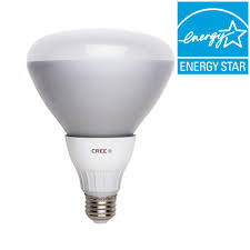 cree equivalent soft white br40 dimmable led flood light bulb