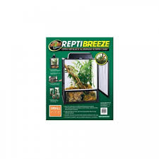 Extra Large Aquarium Decorations by Zoo Med Reptibreeze Screen Cage 61x61x122cm Extra Large
