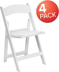 Flash Furniture 4 Pk. HERCULES Series 1000 Lb. Capacity White Resin Folding  Chair With White Vinyl Padded Seat, 4-LE-L-1-WHITE-GG Buy Amazon Brand Solimo Foldable Camping Chair With Flash Fniture 4 Pk Hercules Series 1000 Lb Capacity White Resin Folding Vinyl Padded Seat 4lel1whitegg Amazonbasics Outdoor Patio Rocking Beige Wonderplast Ezee Easy Back Relax Portable Indoor Whitebrown Chairs Target Gci Roadtrip Rocker Quik Arm Rest Cup Holder And Carrying Storage Bag Amazoncom Regalo My Booster Activity High Comfort Padding Director Alinum Mylite Flex One Black 4pack Colibroxportable Fishing Ezyoutdoor Walkstool Compact Stool 13 Of The Best Beach You Can Get On