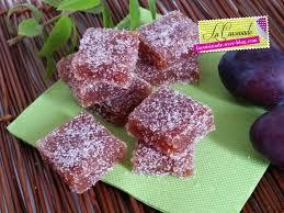 pâtes de fruits aux prunes la cuisinade