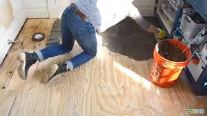 Preparing Wood Subfloor For Tile by How To Prep And Tile A Floor At Charlotte U0027s House