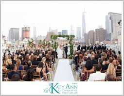 100 Tribeca Roof Lovely Rooftop Wedding Ceremony Held At Top NYC