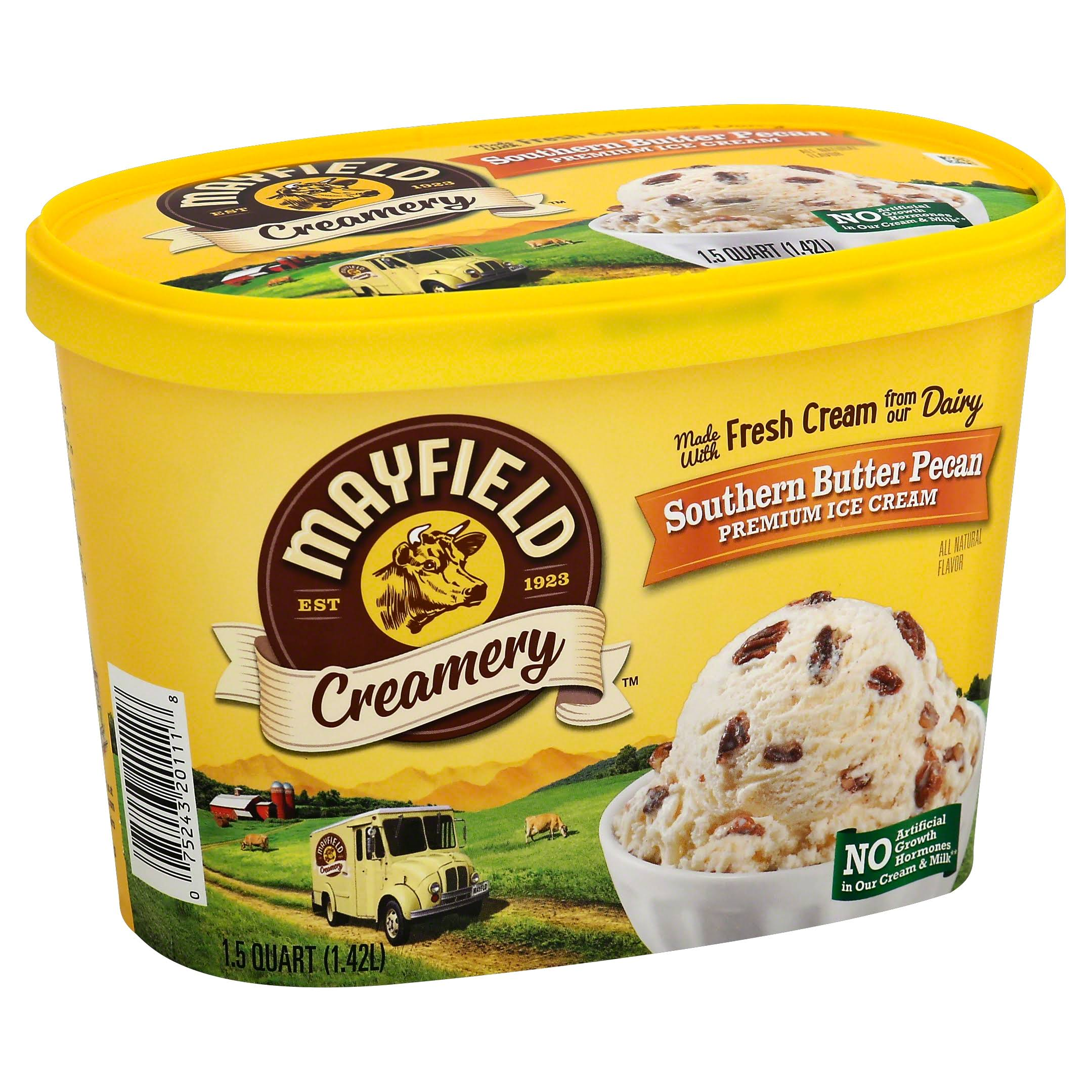 Mayfield Butter Pecan Select Ice Cream - 1.5 Quart