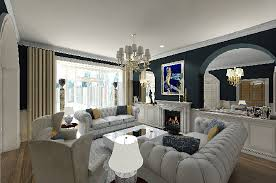 Gallery Of Modern Classic Living Room Design Ideas Best With Additional Interior For Home