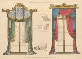 European Cafe Window Art Curtains by Past U0026 Present History Of Curtains U2013 Design Sponge
