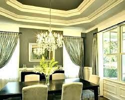 Fresh Dining Room Curtains For Curtain Ideas Photos