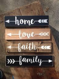 ARROW Wood Sign