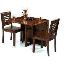 Two Seater Dining Table Folding With Chairs Seat Set