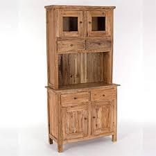 design delights intage vitrinenschrank buffet 177x90cm hxb massivholz küchenschrank kombination mit schubladen und türen hochschrank holz