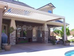 Louvered Patio Covers San Diego by Equinox Patio Covers Skyline Sunrooms U0026 Patio Covers