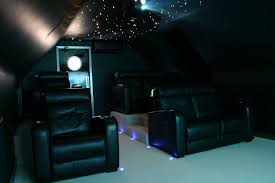 Fibre Optic Ceiling Lighting by Home Cinema Lighting Project 4