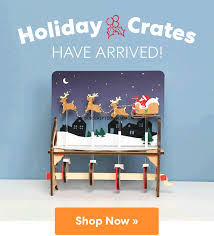 KiwiCo Holiday Crates 2018 Now Available + 40% Subscriber ... Deal Free Onemonth Kiwico Subscription Handson Science 2019 Koala Kiwi Doodle And Tinker Crate Reviews Odds Pens Coupon Code 50 Off First Month Last Day Gentlemans Box Review October 2018 Girl Teaching About Color Light To Kids With A Year Of Boxes Giveaway May 2016 Holiday Fairy Wings My Honest Co Of Monthly Exploring Ultra Violet Wild West February