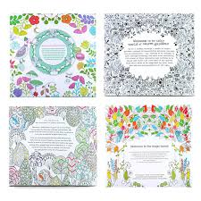 4pcs English Edition Secret Garden Fantasy Dream Animal Kingdom Coloring Book Children Adults Colouring Each 24 Pages In Books From Office