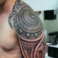 Image Gallery Mayan Tribal Sleeve Tattoos