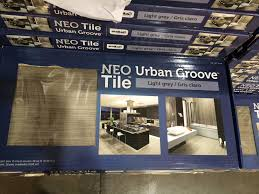 costco tile neo groove in light gray house tile