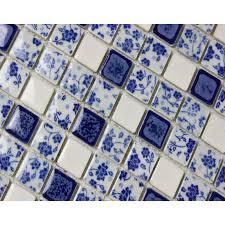and white porcelain tile mosaic tiles ceramic bathroom wall decor