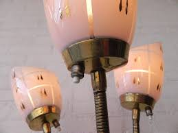 Tension Pole Lamp Shades by Vintage Floor Lamp Glass Shade Xiedp Lights Decoration
