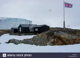 100 Antarctica House Galindez Island Vernadsky Station Wordie Stock