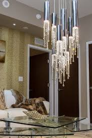 Luxury Living Rooms 4 Tags Modern Room With SEXY CRYSTALS SUSPENSION 6318 6315By Ilfari Luxe Faux Fur Throw