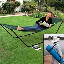 Amazon Portable Foldaway Hammock With Stand And Carry Bag