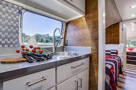 Magnetic Locks For Kitchen Cabinets by Restored Airstream U2022 Stainless Steel Kitchen Countertop U2022 Self