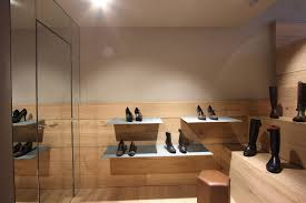 new seraphita shoe shops in madrid by stone designs
