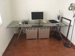 Contemporary Desk Could Be Used As A Dining Table