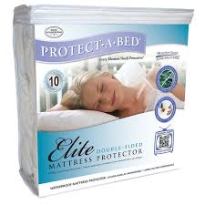 Protecta Bed Mat by Protect A Bed Elite Double Sided Fitted Hypoallergenic Waterproof