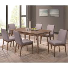 Seven Piece Dining Room Set by Coaster Pasquil Seven Piece Table And Chair Set Coaster Fine