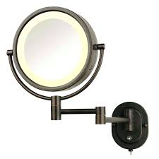 wall mirrors lighted wall mounted direct wired