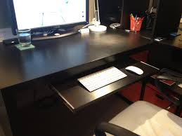 Cpu Holder Under Desk Mount Small by Keyboard Tray For Expedit Desk Ikea Hackers Ikea Hackers