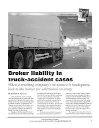 Broker Liability In Truck-accident Cases Victor Vasquez Truck W Captionjpg Lti Trucking Services Hauling Logs In British Columbia Example Company Pay Vs Owner Operator Youtube Earl Henderson A Few From I70 At Concordia Mo I44 Springfield To St Louis Part 6 Heavy Duty Truck Dealership In Colorado Kkw Inc Performance Transportation California Freight Photos Facebook Productivity Clarkson University Tctortrailers Equipped With