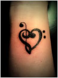 Black Ink Wrist Tattoo Design