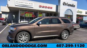 New Dodge Durango For Sale In Orlando, FL - Orlando Dodge Chrysler ...