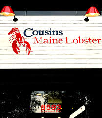 100 Cousins Maine Lobster Truck Menu