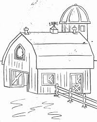 Farm3 Homes Coloring Pages