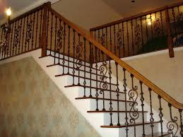 Wooden Banisters A Classic Staircase In A Luxury Home Stock Photo ... Stairway Wrought Iron Balusters Custom Wrought Iron Railings Home Depot Interior Exterior Stairways The Type And The Composition Of Stair Spindles House Exterior Glass Railings Raingclearlightgensafetytempered Custom Handrails Custmadecom Railing Baluster Store Oak Banister Rails Sale Neauiccom Best 25 Handrail Ideas On Pinterest Stair Painted Banister Remodel
