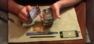 How to Fix broken front glass on an iPhone  Smartphones Gad