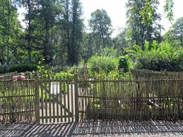 Back Garden Rustic Fence Ideas Fountains Kris Allen Daily Roman Theater Lawn In The