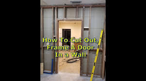 door frame cut u0026 in progress tile floor