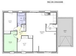 plan de maison de plain pied 3 chambres plan maison plain pied 80m2 14 plan de maison simple redz