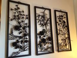 Wall Art Designs Asian Mid Century Metal
