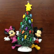 Disney Christmas Tree Ornament Mickey Minnie Mouse