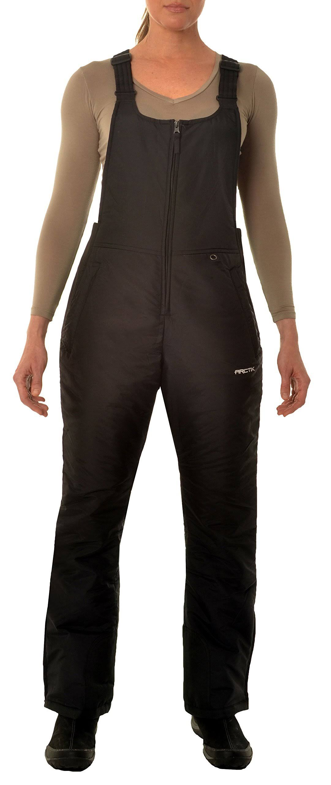 Arctix 1450 Classic Bib Women's Snow Pants - Black, XXLarge