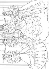 Barbie And The Three Musketeers Printable Coloring Pages