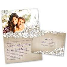 Wedding Invites Free Respond Cards Burlap And Lace Frame Invitation With Response Postcard