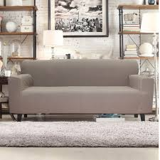 100 Sofa N More Bed Bath N More Form Fit Smart Seam Stretch Slipcover