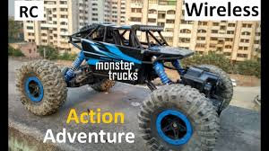 Remote Control Monster Trucks | Rock Crawling Car 1:18 Scale ...