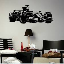 formel 1 schablone motorrad tapete für schlafzimmer