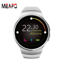 Bluetooth Smart Watch Phone KW18 Sim And TF Card Heart Rate Reloj